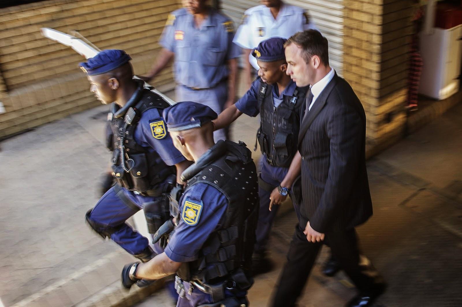 Oscar Pistorius Cries Himself To Sleep At Night in Prison
