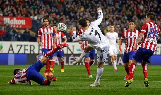 Atletico set up Real Madrid clash