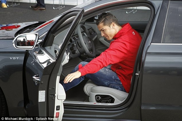 Real Madrid Players Given Brand New Audi Cars
