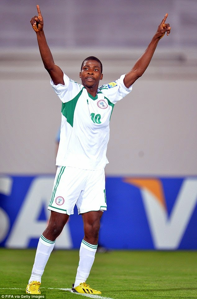 My Son Is Not Ready To Play For the Super Eagles - James Iheanacho