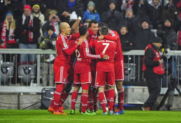 Bayern Claim New League Records in Mainz Win