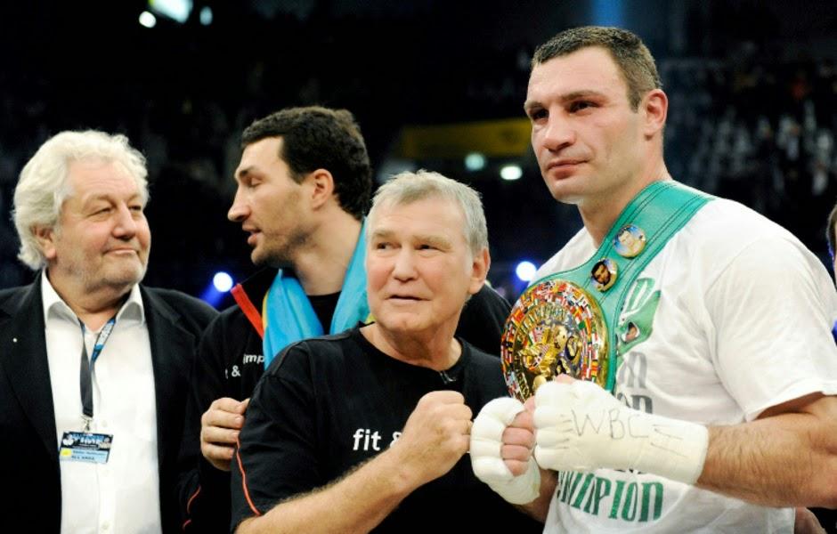 Fritz Sdunek, longtime Klitschko coach, dies at 67