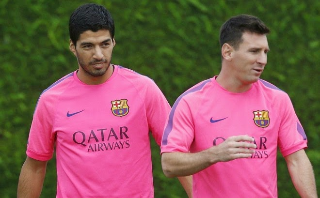 Luis Suarez Happy In Messi's Shadow, Angry At Racist Label