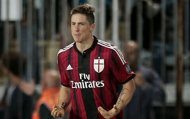 AC Milan signs Spanish Fernando Torres on a permanent deal