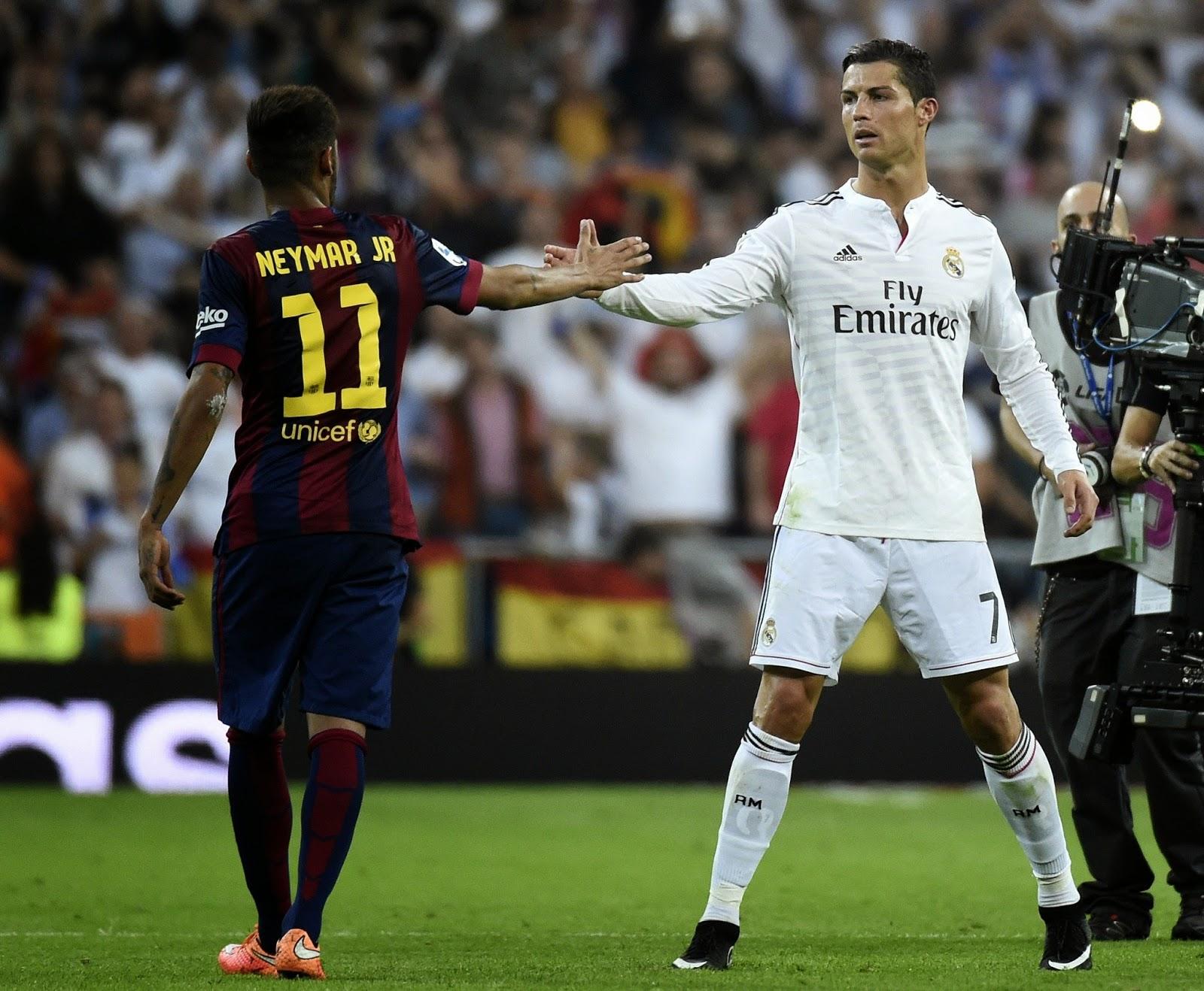 Ballon d'Or: Neymar Votes For Cristiano Ronaldo