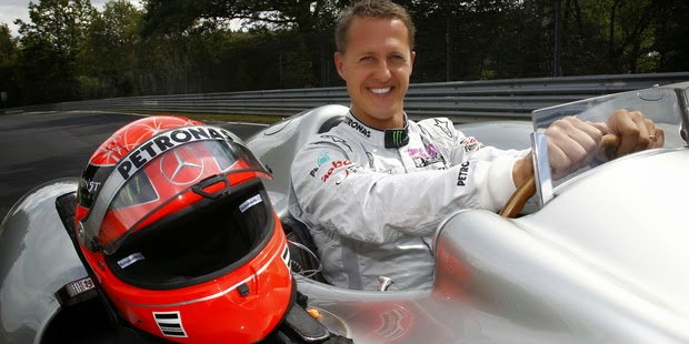 Good News: Schumacher Can Now Recognise Family and Friends