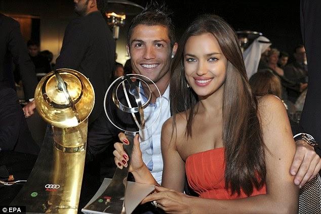Cristiano Ronaldo Reveals Girlfriend Irina Shayk Keeps 'Stealing' His CR7 Boxers