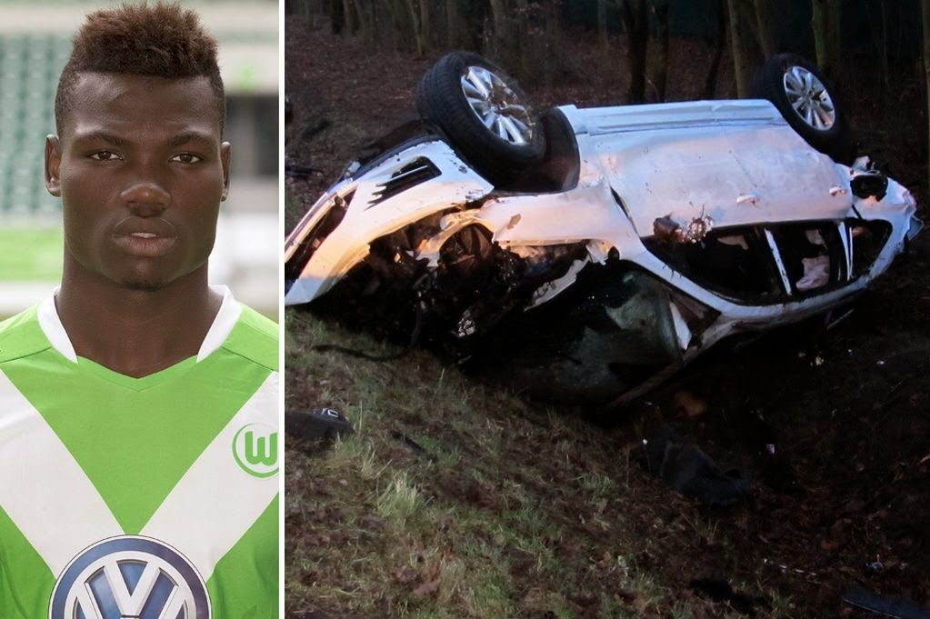 Wolfsburg's Malanda killed in car crash