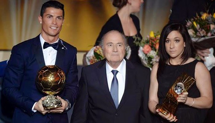 List of award winners at Ballon d`Or ceremony