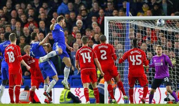 Ivanovic heads Chelsea To Wembley