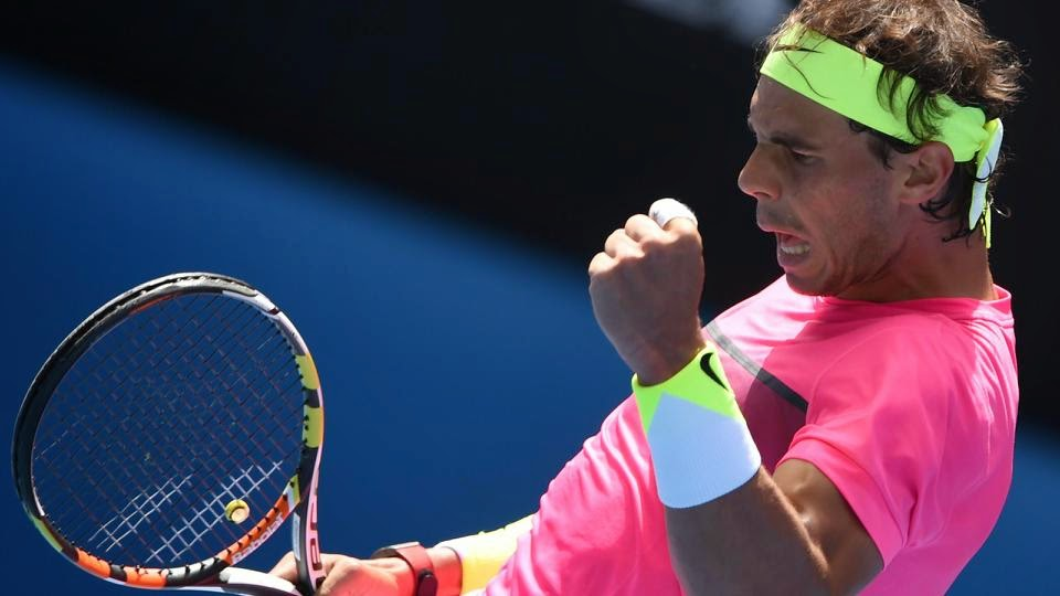 Rafael Nadal Crushes Mikhail Youzhny In Melbourne
