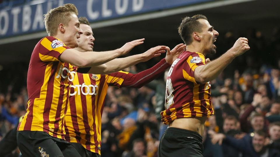 Giant Killers, Bradford Takes Chelsea To The Cleaners