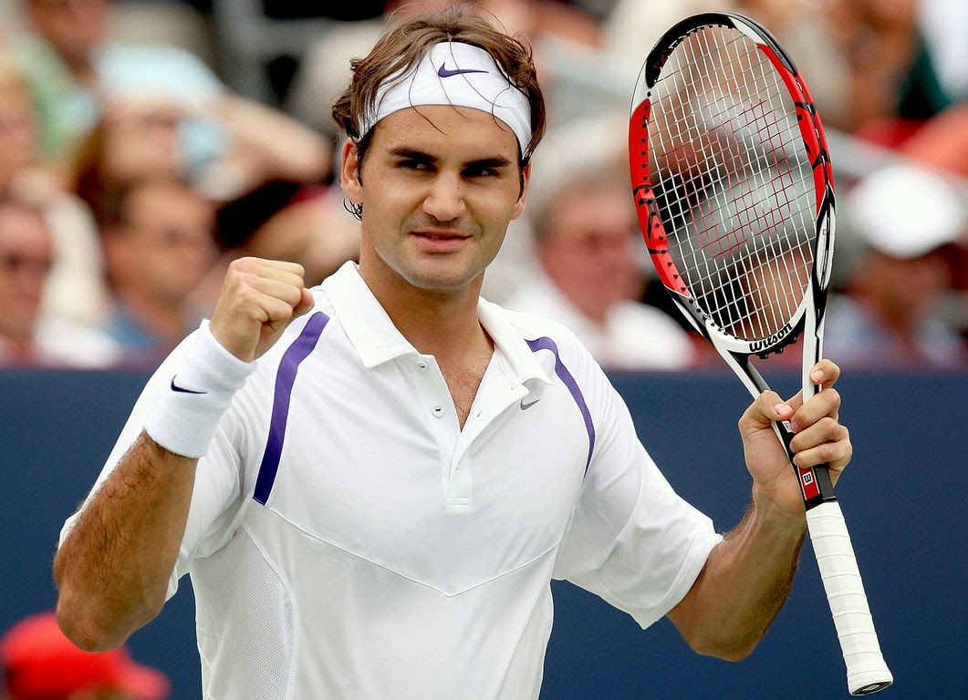 Federer gets 1,000th victory