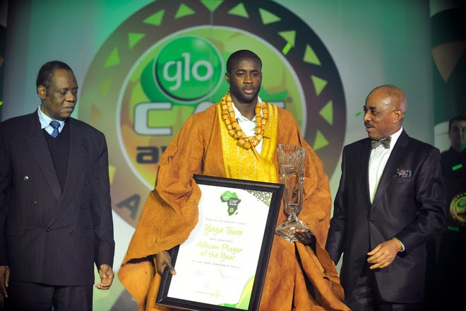 Yaya On Course To Win A Record Fourth African Award