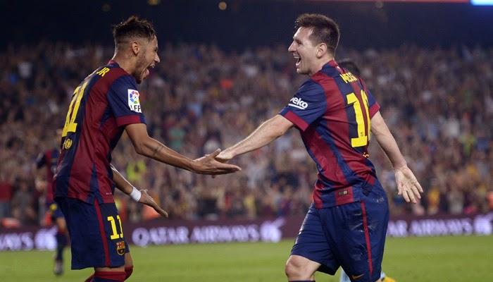 Neymar hits double as Barca put five past Elche