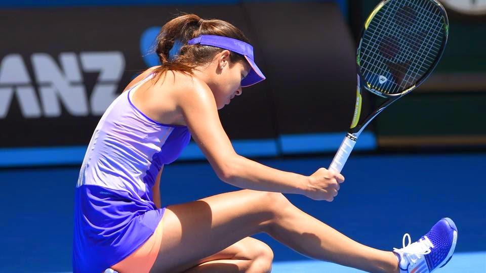 Ivanovic Bundled Out Of Australian Open