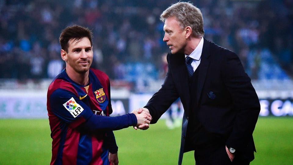 David Moyes Enjoys Famous Win Over Barcelona