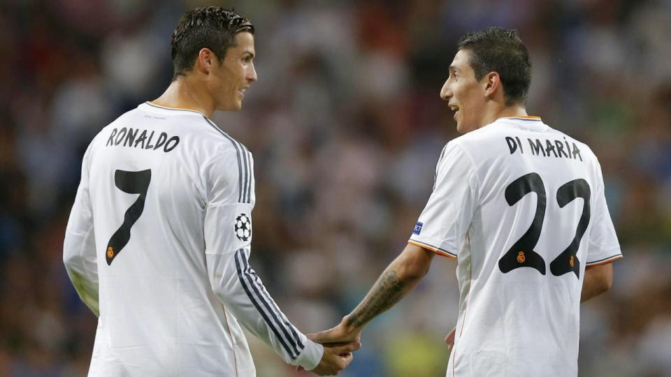 Ronaldo Will Not Return to Manchester United, Says Di Maria
