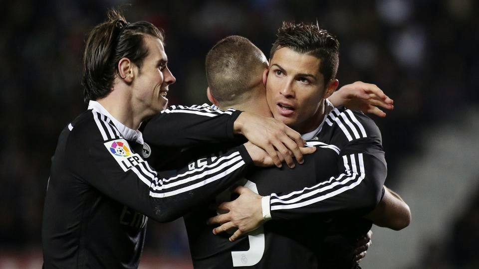Real Madrid Widen Lead By Four Points