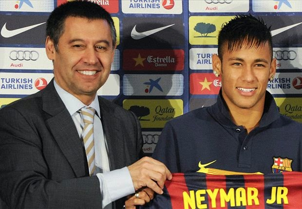 Barcelona Fingers Madrid In Latest Neymar's Scandal