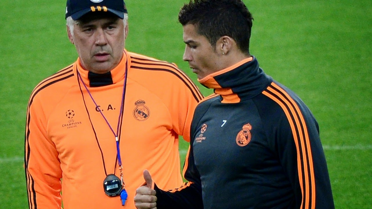 Ronaldo Is a Leader In Real Madrid - Ancelotti