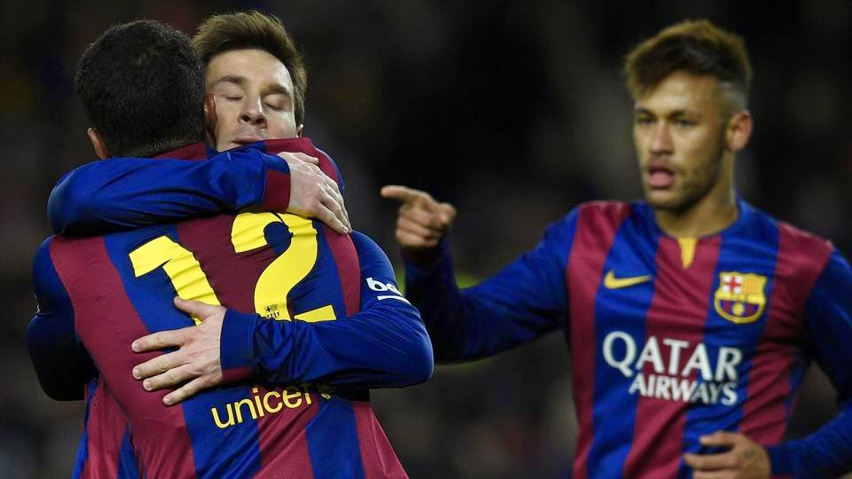 Barcelona Grinds Out A Narrow Win Over Villarreal