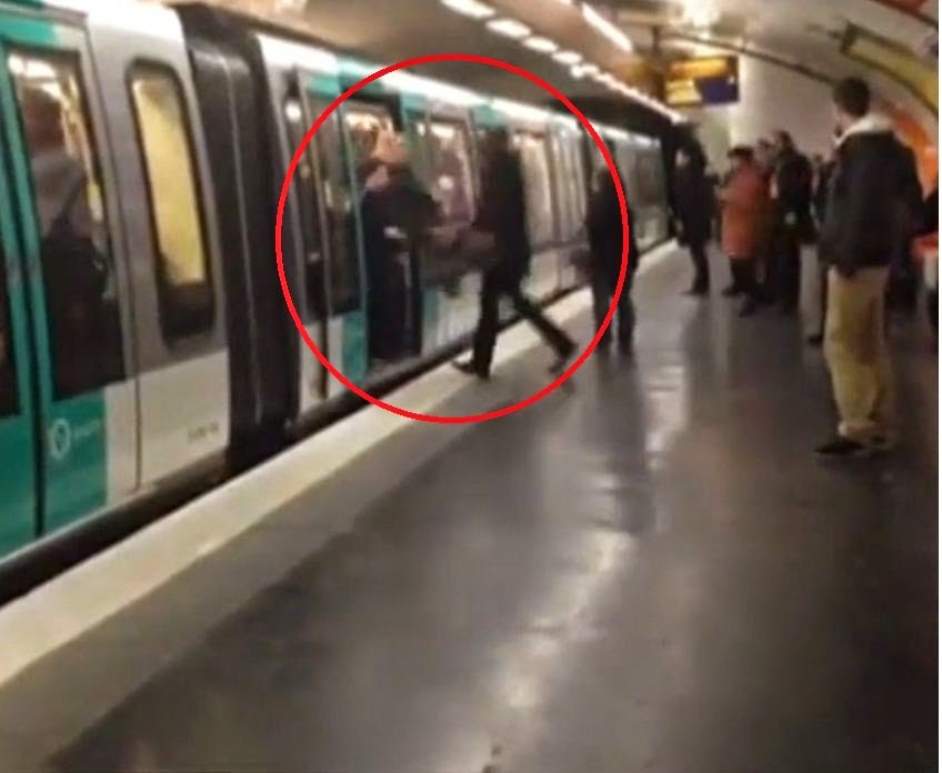 Black Man Pushed Off Train By Chelsea Fans