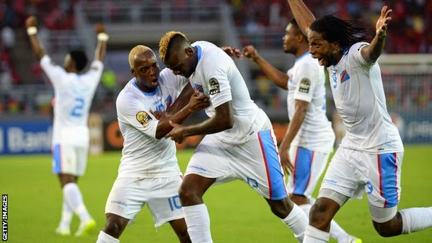 AFCON 2015: DR Congo Qualifies For Semi-Finals