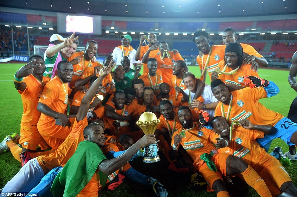 AFCON 2015: Barry Wins Cup For Ivory Coast