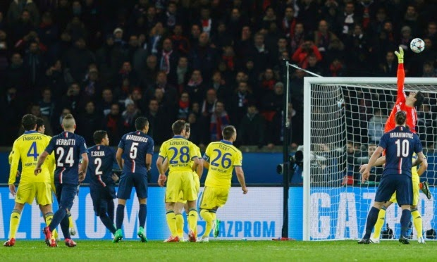 Champions League: Courtois Keeps PSG At Bay
