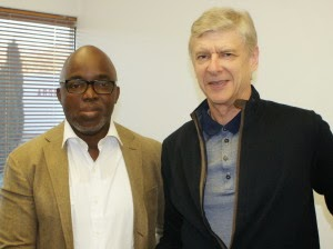 Wenger Plays Host To Pinnick In London