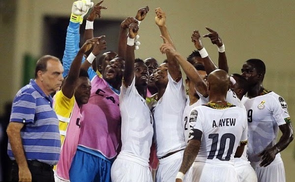 AFCON 2015: Ghana beat hosts Equatorial Guinea, to face Ivory Coast in final