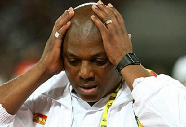NFF To Decide Keshi's Fate On Tuesday