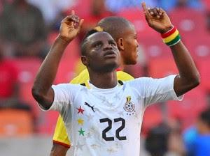 Ghanaian Wakaso Scores AFCON 1500th Goal