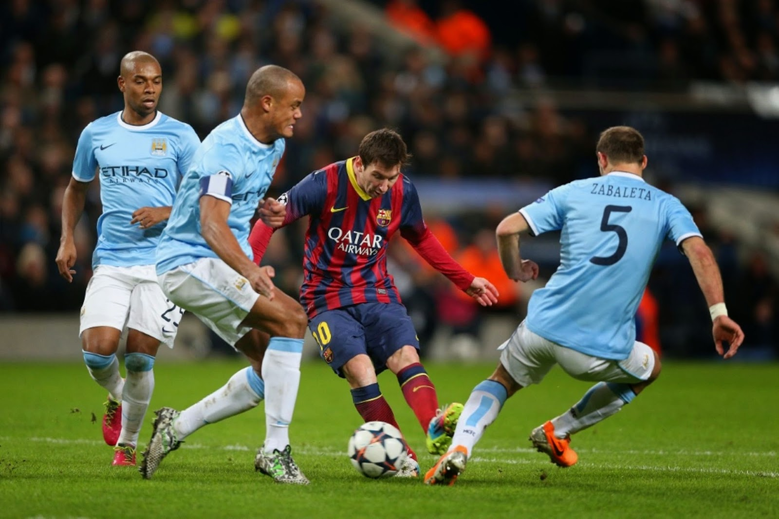 Barcelona Aims To Make It Eight Q'Final Appearance Against Man City