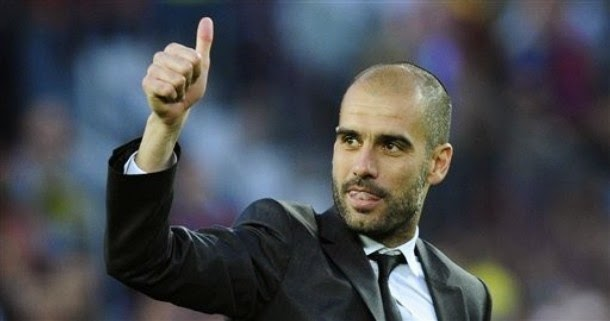 Man City Prioritise Pep To Take Over From Pellegrini