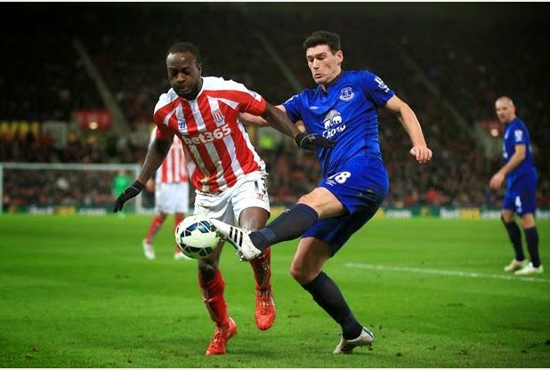 Moses Leads Stoke To Victory Over Everton