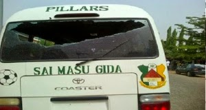 Gunmen attack Kano Pillars players, officials on Abuja expressway
