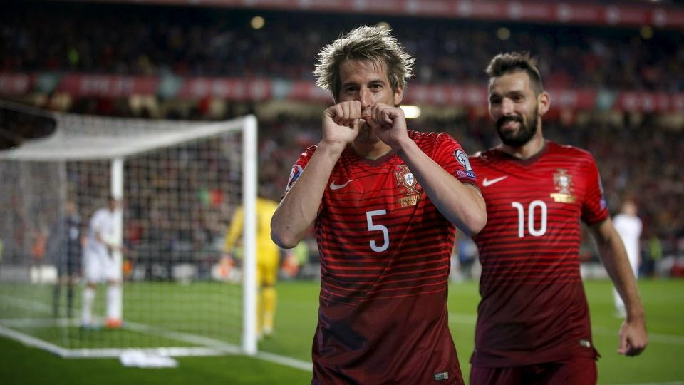 Coentrao leads Portugal to victory over Serbia