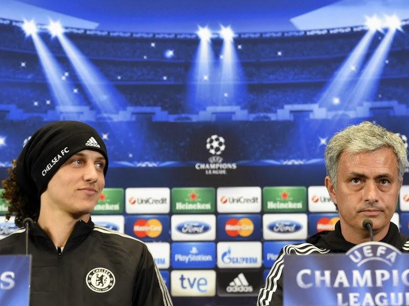 Mourinho Is Special For You, Not Me – David Luiz