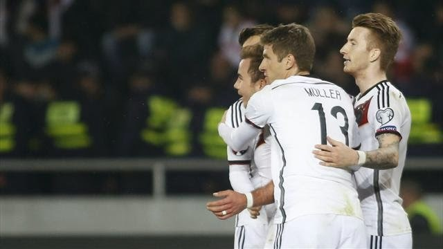 EURO 2016: Germany Defeats Georgia