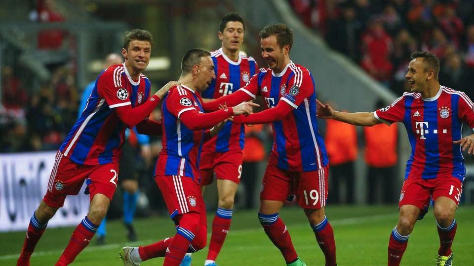 Bayern Munich Tears Shakhtar Donetsk Into Shreds