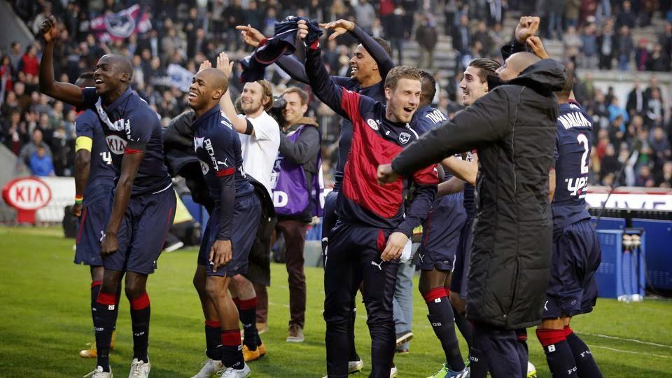 PSG Slip To Bordeaux Defeat