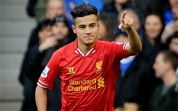 Coutinho wins PFA Fans Player of the Month for February