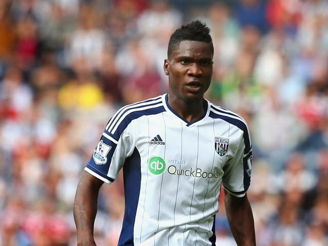 Brown Ideye's Goal Separates West Brom From Stoke City
