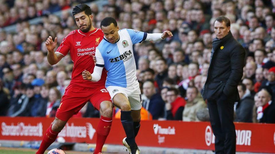 Blackburn Take Liverpool To FA Cup Quarter-Final Replay