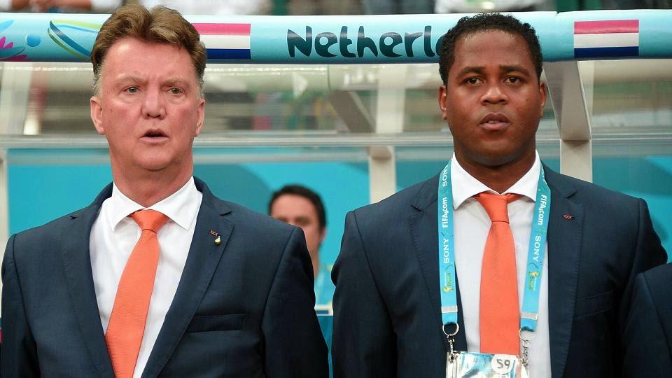 Van Gaal Didn't Want Me To Be His No 2 Man At Man Utd – Kluivert