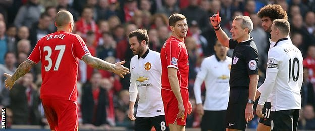 Liverpool Captain Sorry For 38-Second Red Card