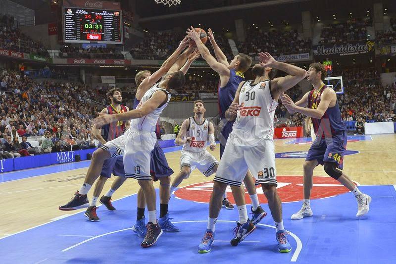 Real Reach Euroleague Playoffs As Barca Beat Maccabi