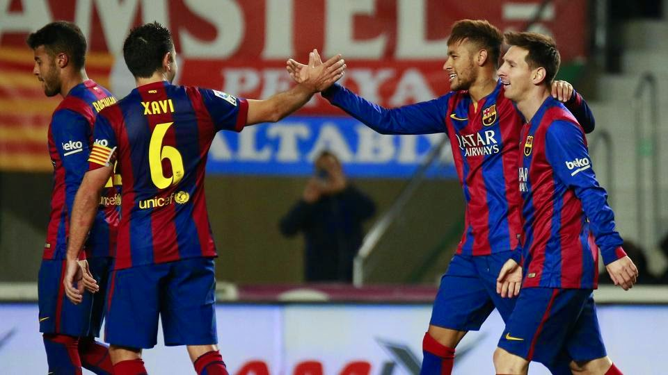 Barca Goes Four Points Clear At The Top Of The Liga Table